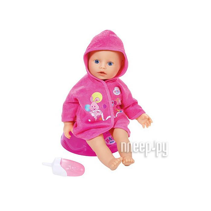 Кукла Zapf Creation Baby Born Кукла быстросохнущая с горшком и бутылочкой 823-460 купить