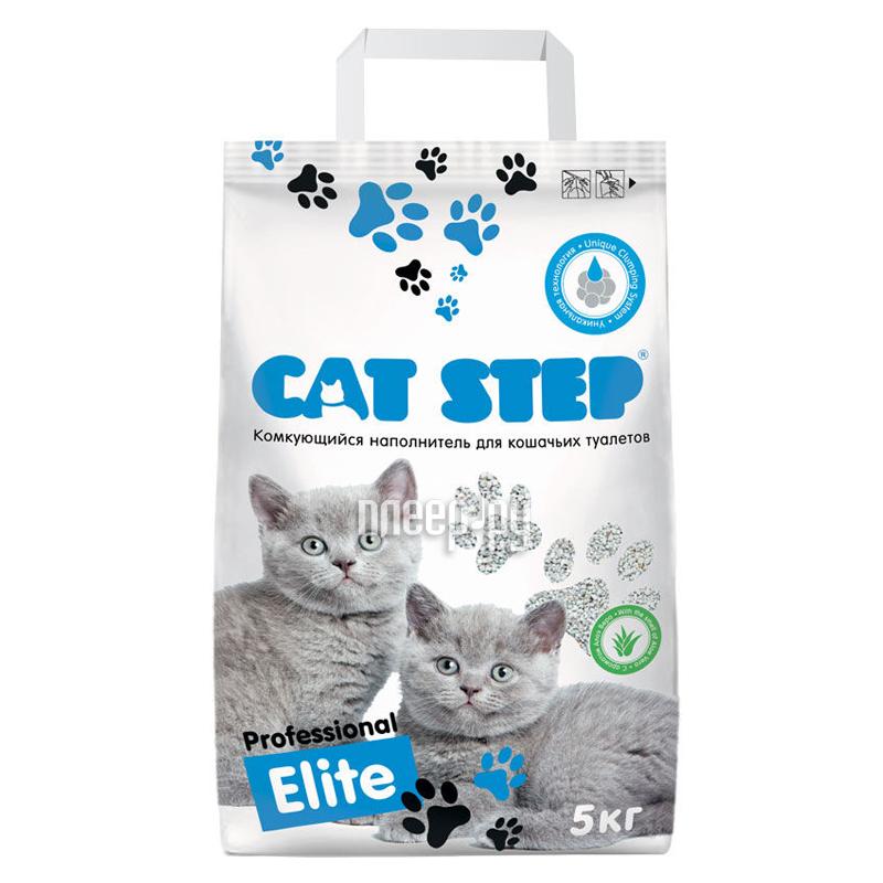 Наполнитель CAT STEP 5kg Professional Elite НК-015 20313001