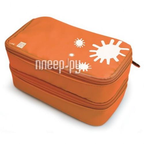 Ланч-бокс Iris I9933-T 21x11x10.5cm Orange