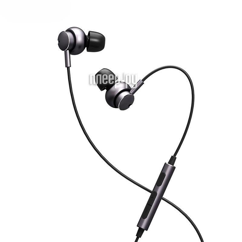 Гарнитура Rock Mubow Stereo Earphone Grey