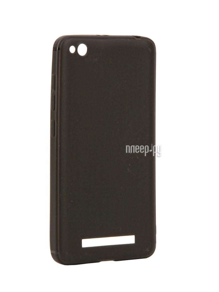 Аксессуар Чехол Xiaomi Redmi 4A Neypo Silicone Soft Matte Black NST2384