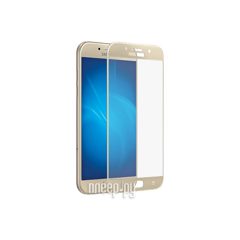 Аксессуар Защитное стекло Samsung Galaxy A3 2017 Neypo Full Screen Glass Gold