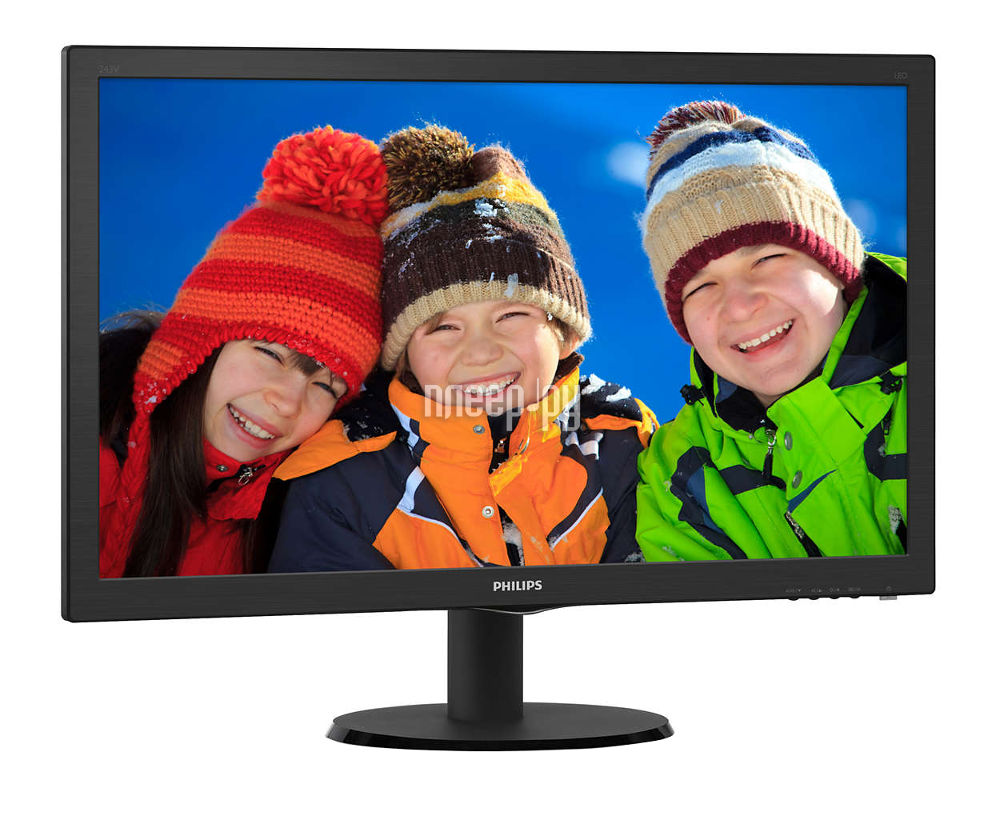 Монитор Philips 243V5LHAB5 Black