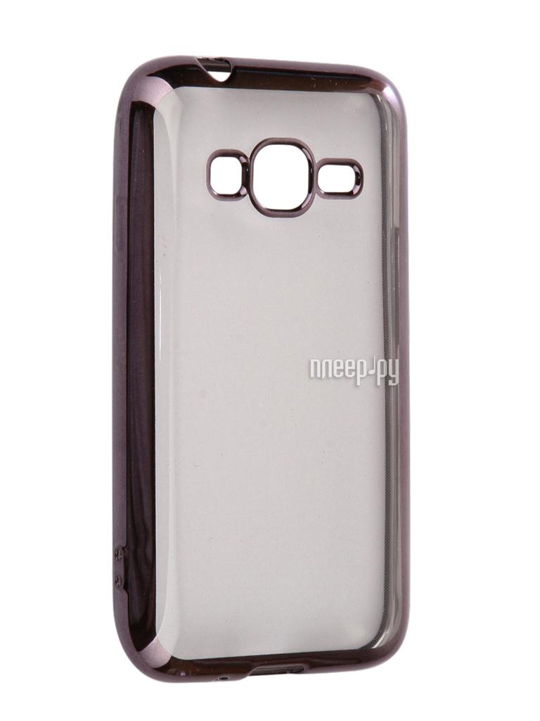 Аксессуар Чехол Samsung Galaxy J1 mini LTE J106 2017 Neypo Silicone Aura Grey Metallic NSTA0226