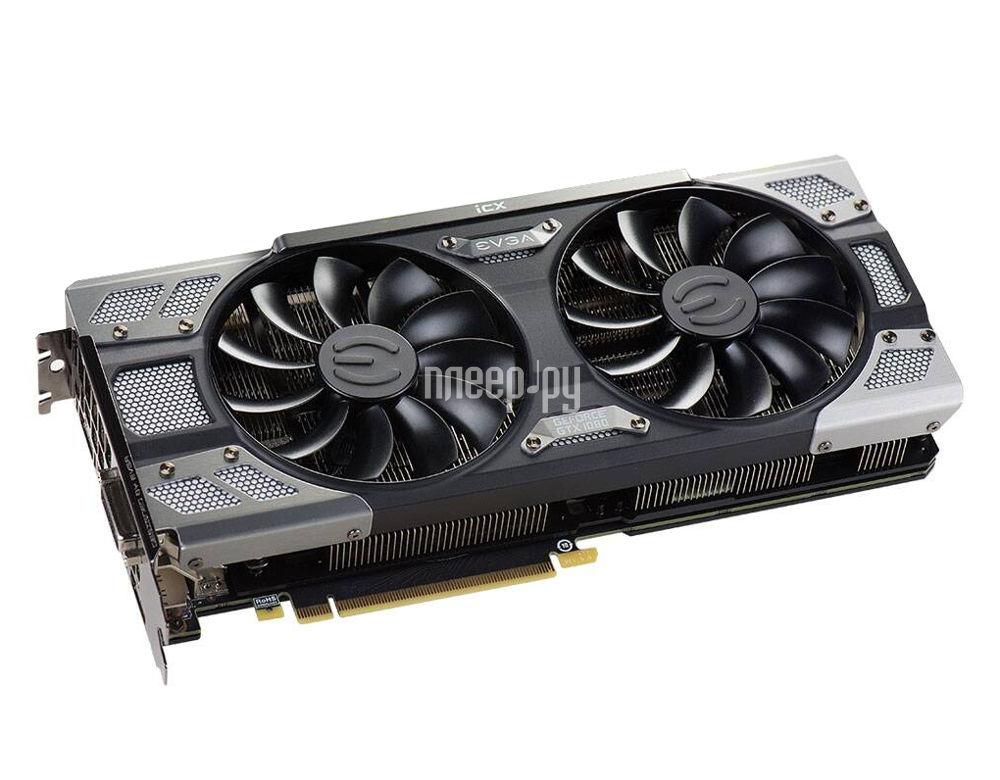 Видеокарта EVGA GeForce GTX 1080 FTW2 Gaming 08G-P4-6686-KR
