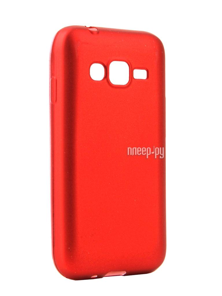 Аксессуар Чехол Samsung Galaxy J1 mini Prime J106 2017 Neypo Silicone Neon Red NSTN2633 купить