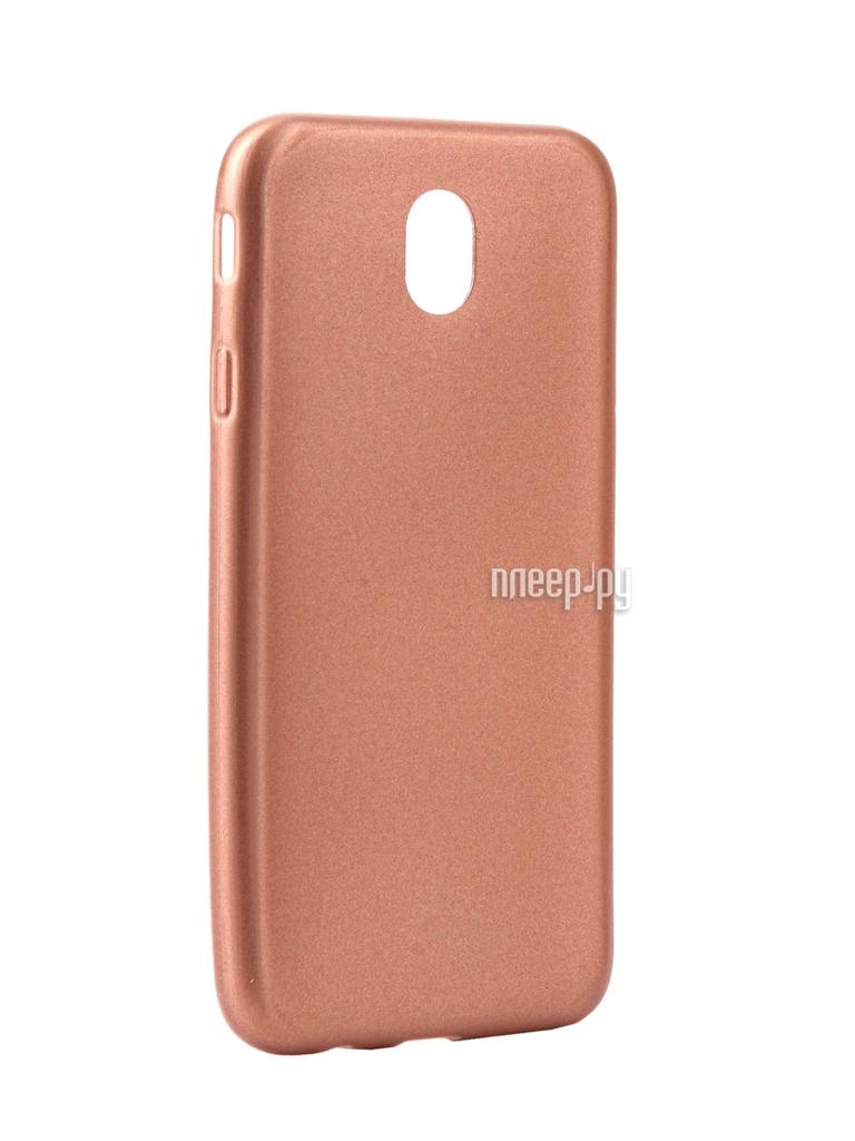 Аксессуар Чехол Samsung Galaxy J7 2017 Neypo Silicone Neon Gold NSTN2629