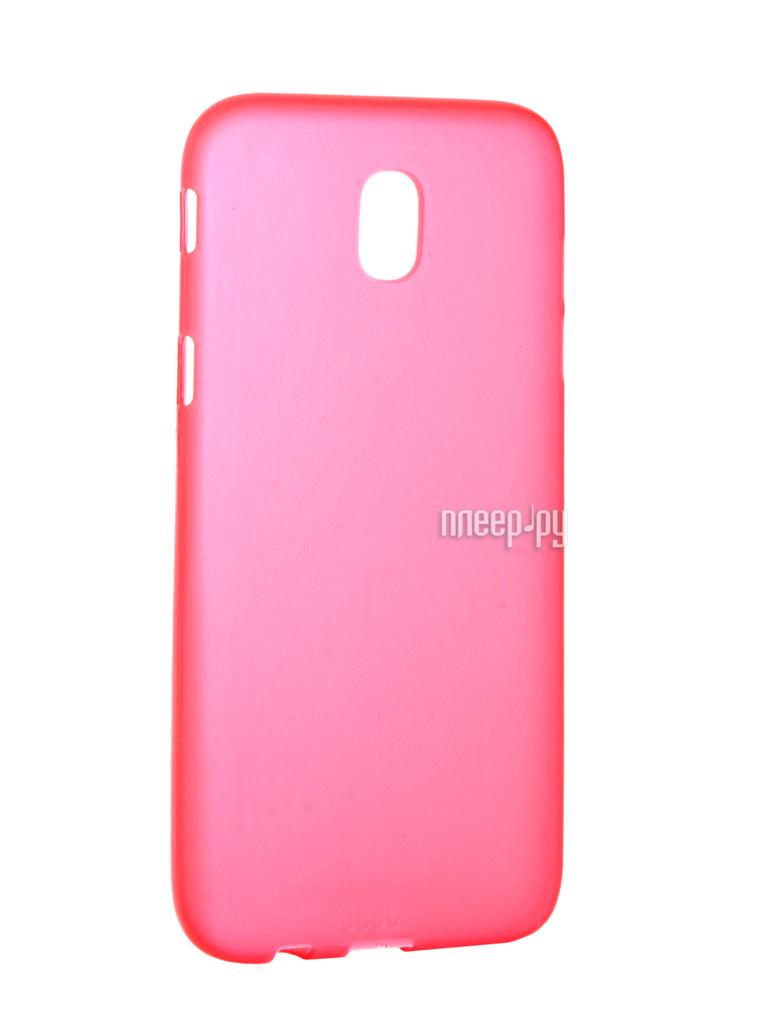 Аксессуар Чехол Samsung Galaxy J5 2017 J530 Neypo Silicone Soft Matte Red NST2563
