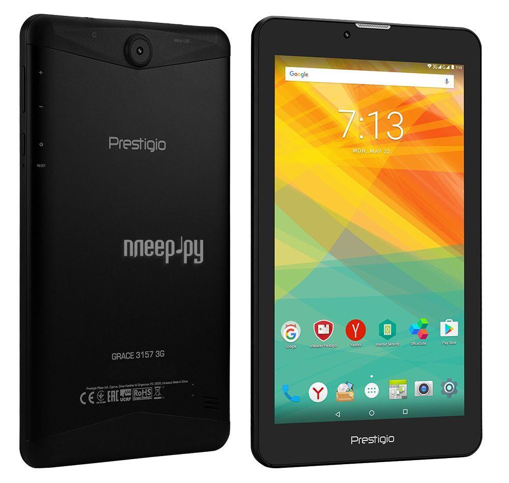 Планшет Prestigio MultiPad Grace 3157 3G (MediaTek MT8321 1.3GHz / 1024Mb / 16Gb / Wi-Fi / Bluetooth / Cam / 7.0 / 1280x720 / Android)