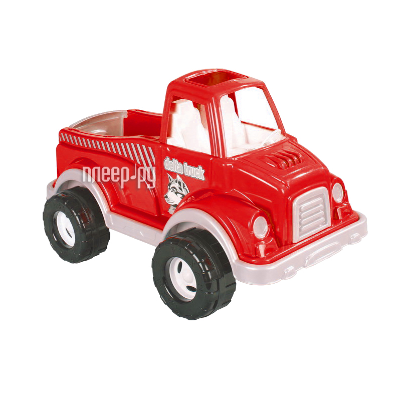 Машина Pilsan Delta Truck Red 06-506