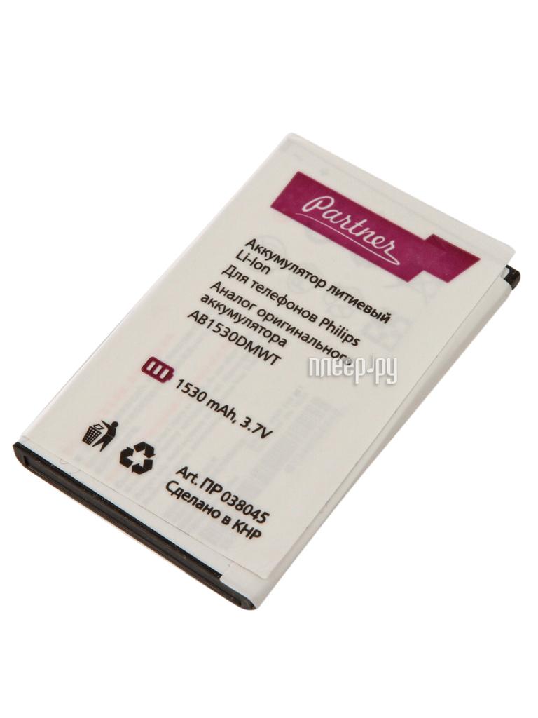 Аккумулятор Philips E311 AB1530DWMT Partner 1530mAh ПР038045