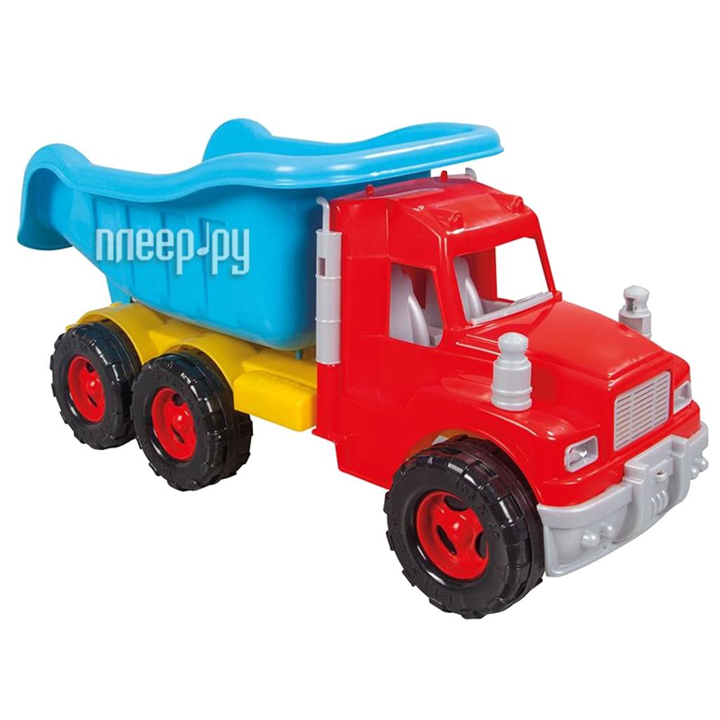 Машина Pilsan Mak Truck Blue-Red 06-611