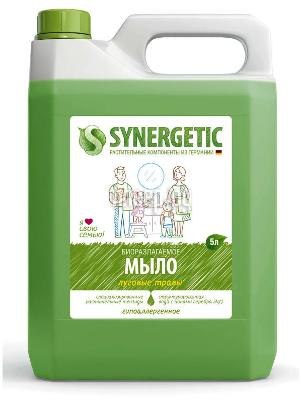 Средство для ухода за руками Synergetic Мыло жидкое 5L 4613720438983 купить