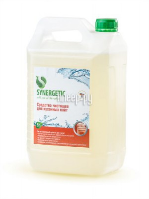 Купить Средство Synergetic Чистящее для плит 5L 4613720439010