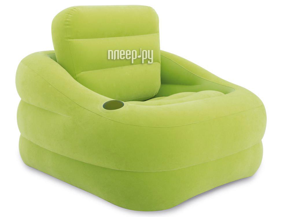 Надувное кресло Intex Accent Chair - Lime 97х107х71cm 68586