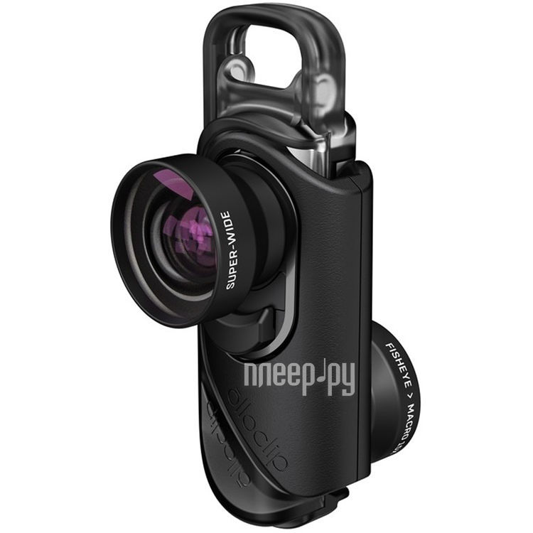 Аксессуар Объектив Olloclip Core Lens Set для iPhone 7 / 7 Plus OC-0000213-EU Black