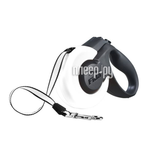 Рулетка Fida Mars 5m до 15kg White Black 5135488
