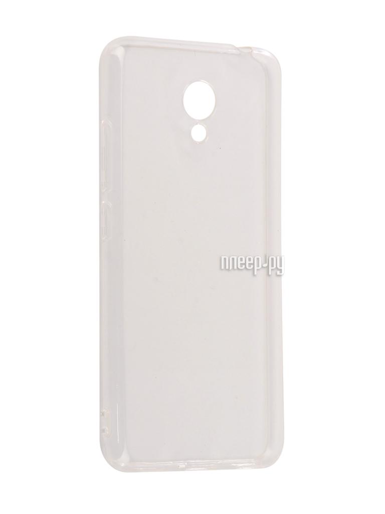 Аксессуар Чехол Meizu M5C SkinBox Slim Silicone 4People Transparent T-SMM5C-005