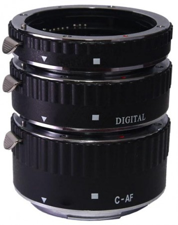 Удлинительное кольцо Phottix AF Extension Tube (3 Rings) for Canon 61250  Pleer.ru  3758.000