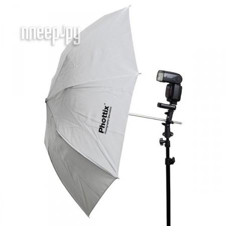 Зонт Phottix Double Small Folding Shoot-Through Umbrella 91cm White 85361  Pleer.ru  701.000