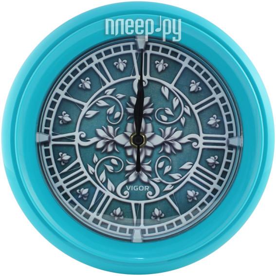 Часы Vigor Д-24 Лепнина Turquoise