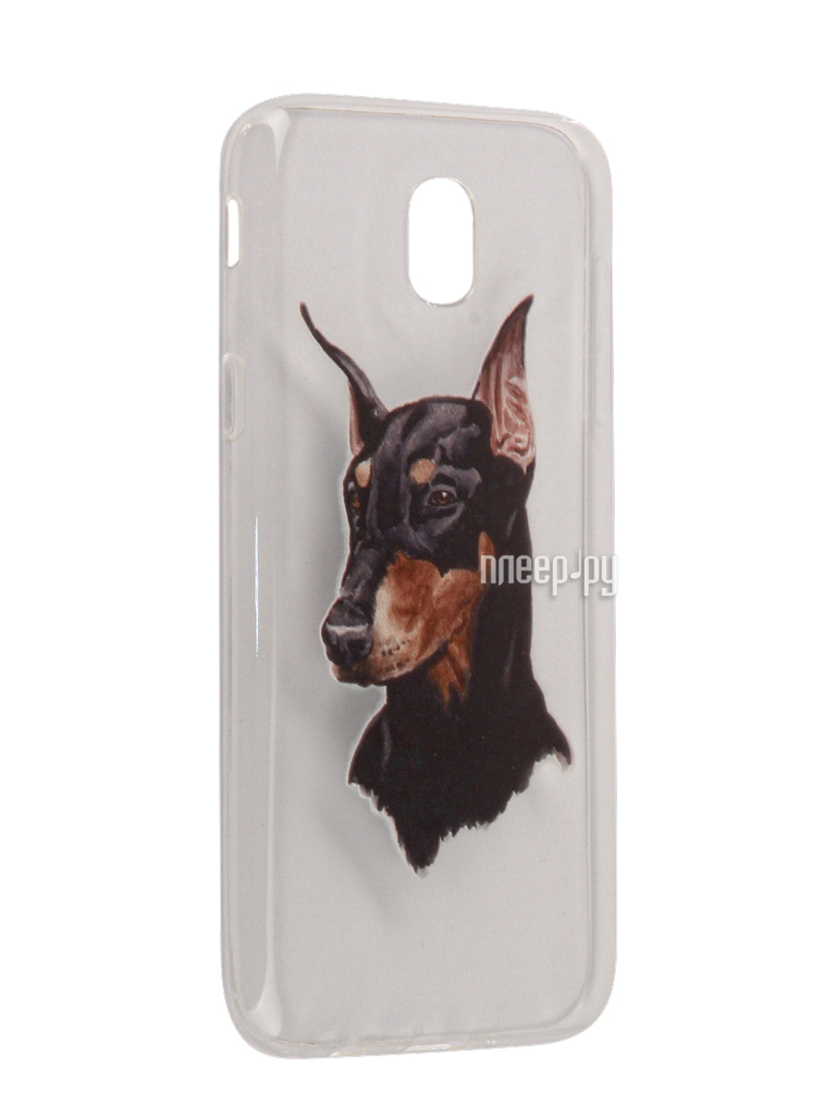 Аксессуар Чехол Samsung Galaxy J5 2017 With Love. Moscow Silicone Dog 5160