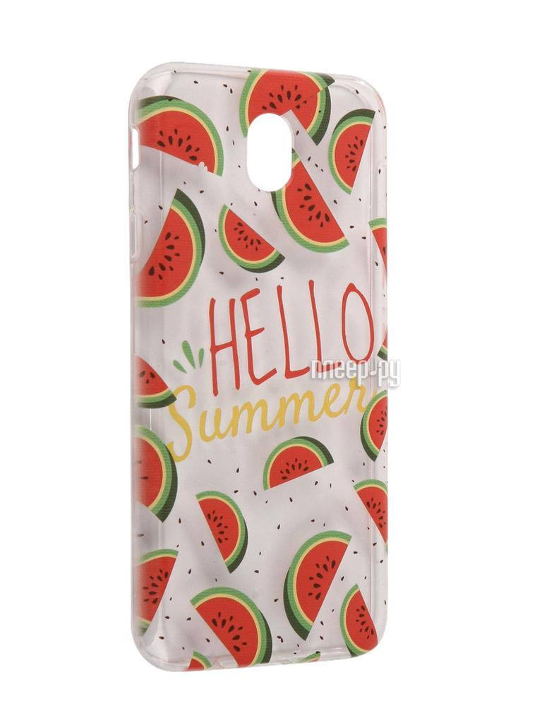 Аксессуар Чехол Samsung Galaxy J7 2017 With Love. Moscow Silicone Hello Summer 5171 за 628 рублей