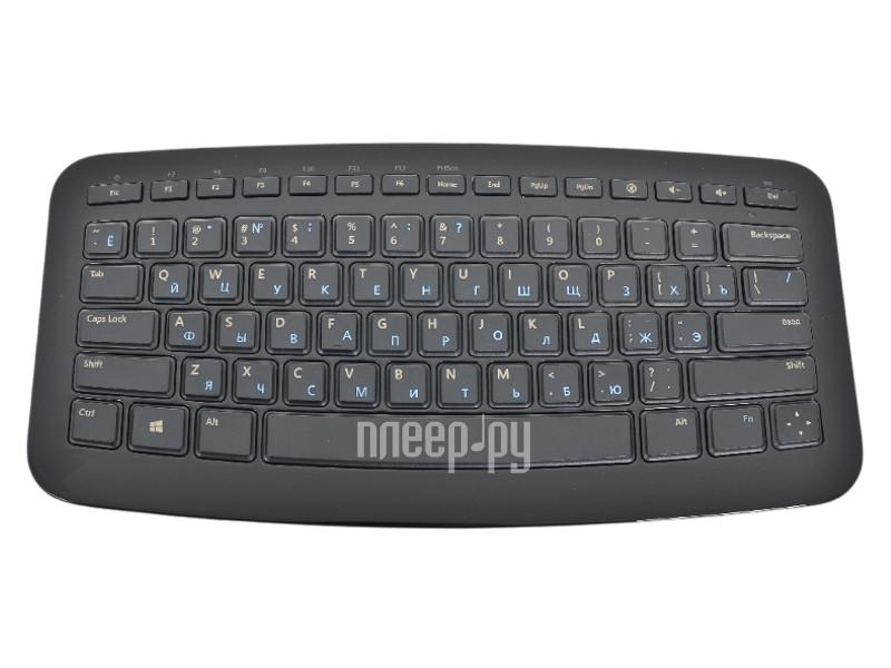 Клавиатура беспроводная Microsoft Arc Keyboard J5D-00014 USB  Pleer.ru  1438.000