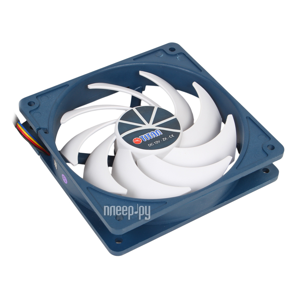 Вентилятор TITAN TFD-12025H12ZP / KE(RB) 120x120x25mm