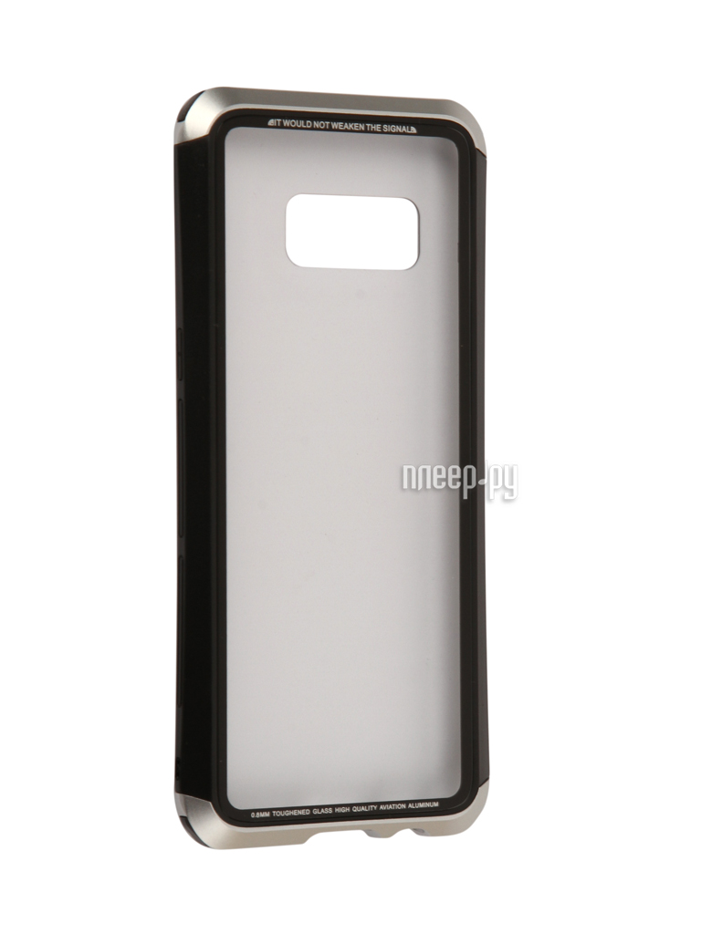 Аксессуар Чехол Samsung Galaxy S8 Luphie Double Dragon Black-Silver PX / LUPH-S8-DDRAGON-bs