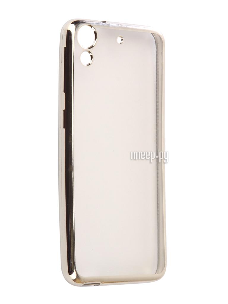 Аксессуар Чехол HTC Desire 650 Svekla Flash Silicone Silver SVF-HTD650-SIL