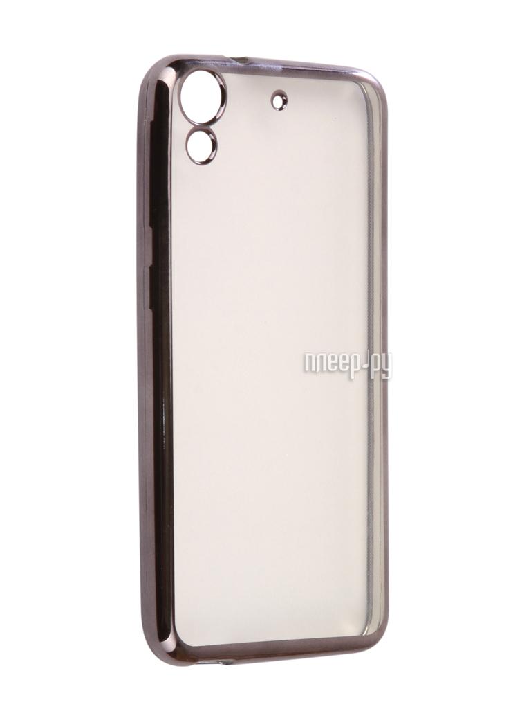 Аксессуар Чехол HTC Desire 650 Svekla Flash Silicone Black