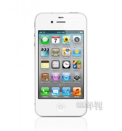 Сотовый телефон Apple iPhone 4S 64Gb White Производим тестирование