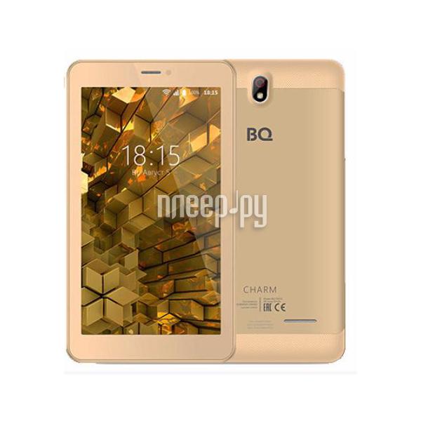 Планшет BQ BQ-7081G Charm Gold (MediaTek MT8321M 1.3 GHz / 1024Mb / 8Gb / Wi-Fi / 3G / Bluetooth / GPS / Cam / 7.0 / 1024x600 / Android)