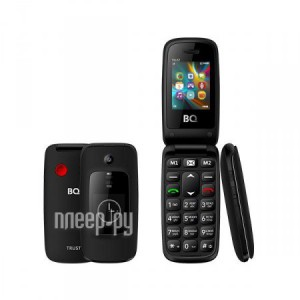 Купить Сотовый телефон BQ 2002 Trust Black