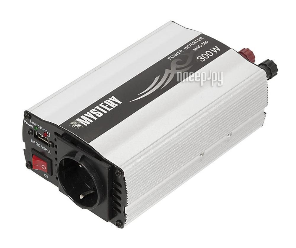 Автоинвертор Автоинвертор Mystery MAC-300 (300Вт) с 12В на 220В c USB