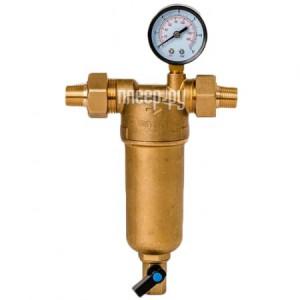 Купить Фильтр для воды Гейзер Бастион 122 1/2 с манометром для горячей воды воды d60 32672