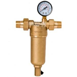 Купить Фильтр для воды Гейзер Бастион 122 3/4 с манометром для горячей воды воды d60 32673
