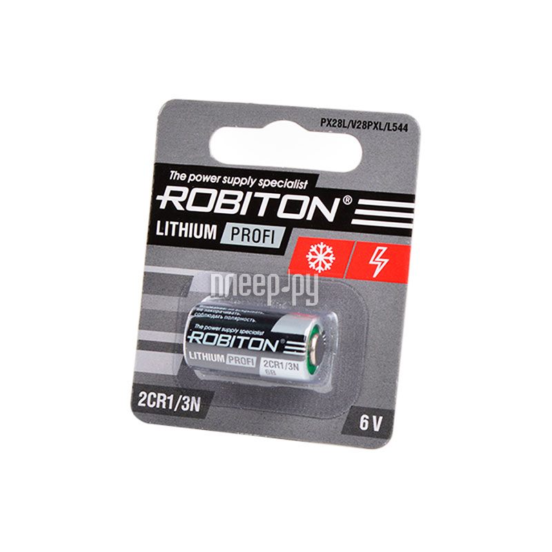 Батарейка 2CR1 - Robiton Profi R-2CR1 / 3N-BL1 13708