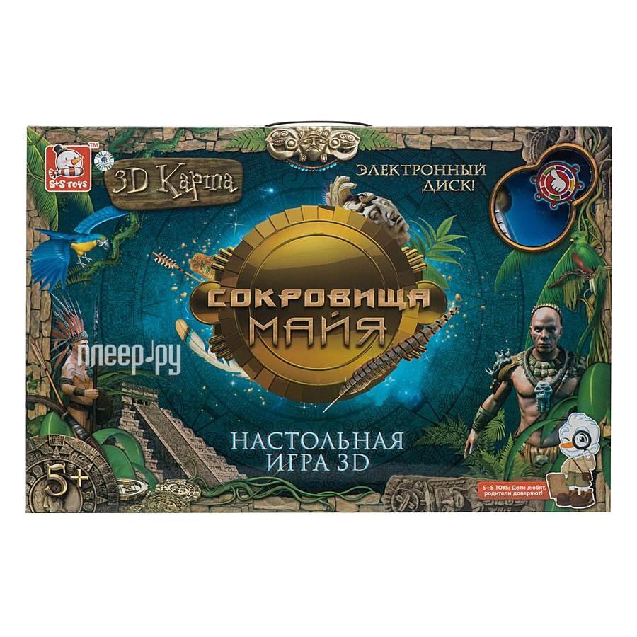 Настольная игра S+S toys Сокровища майя СС76705