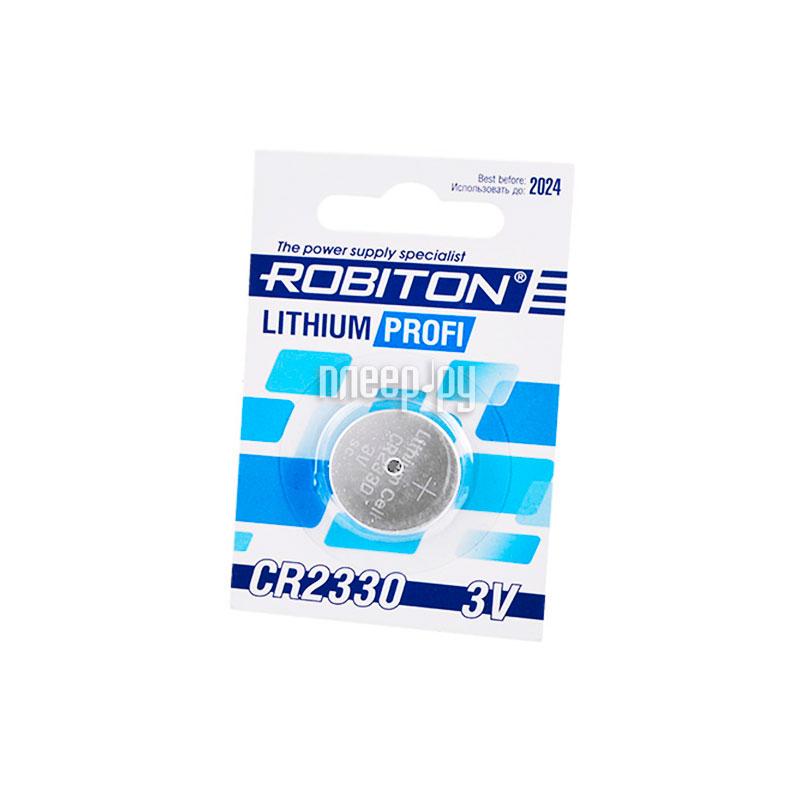 Батарейка CR2330 - Robiton Profi R-CR2330-BL1 14630