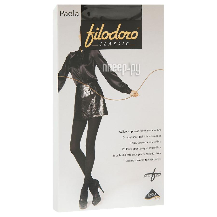 Колготки Filodoro Paola размер 4 плотность 100 Den Nero
