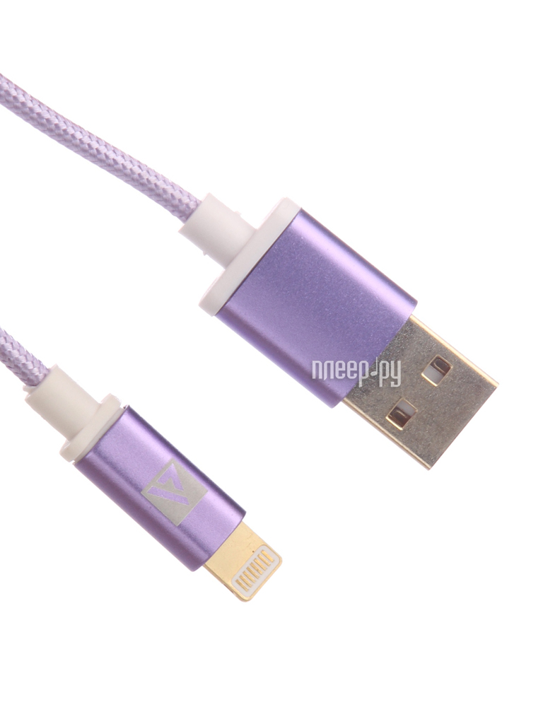 Аксессуар ACD Style Lightning USB-A 1m Purple ACD-U913-P6P