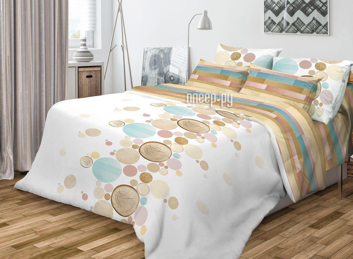 Постельное белье Волшебная ночь Wood Комплект Евро Ранфорс 701955