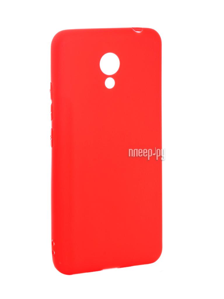 Аксессуар Чехол Meizu M5C Zibelino Soft Matte Red ZSM-MEZ-M5C-RED