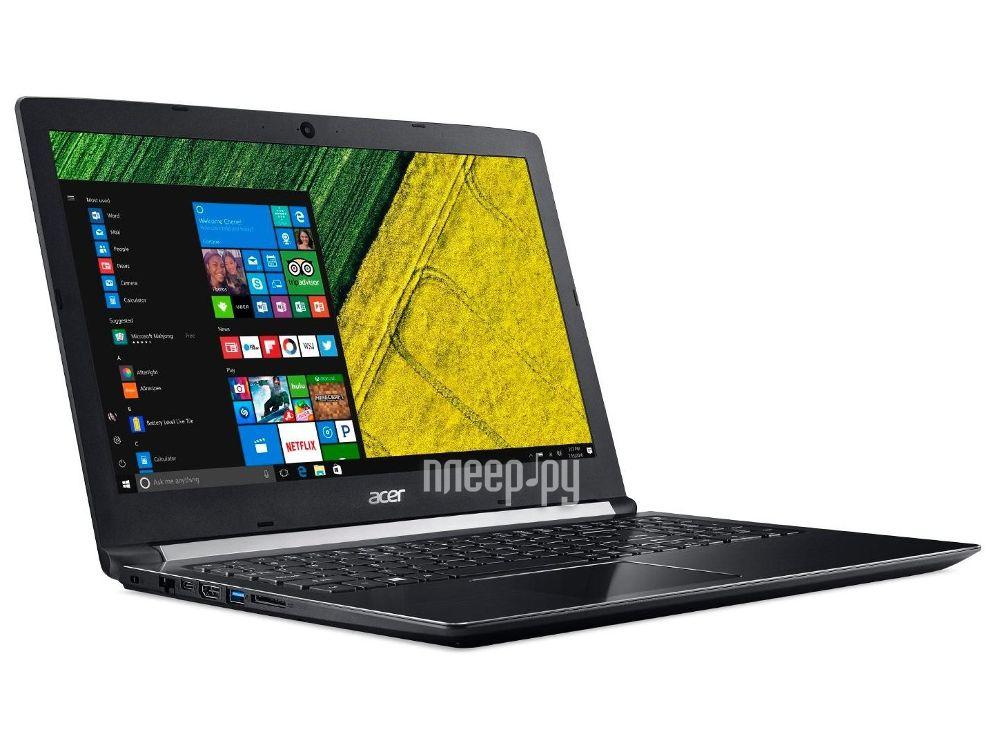 Ноутбук Acer Aspire A515-51G-32KX NX.GP5ER.003 (Intel Core i3-6006U 2.0 GHz / 6144Mb / 1000Gb / No ODD / nVidia GeForce 940MX 2048Mb / Wi-Fi / Bluetooth / Cam / 15.6 / 1366x768 / Windows 10 64-bit)