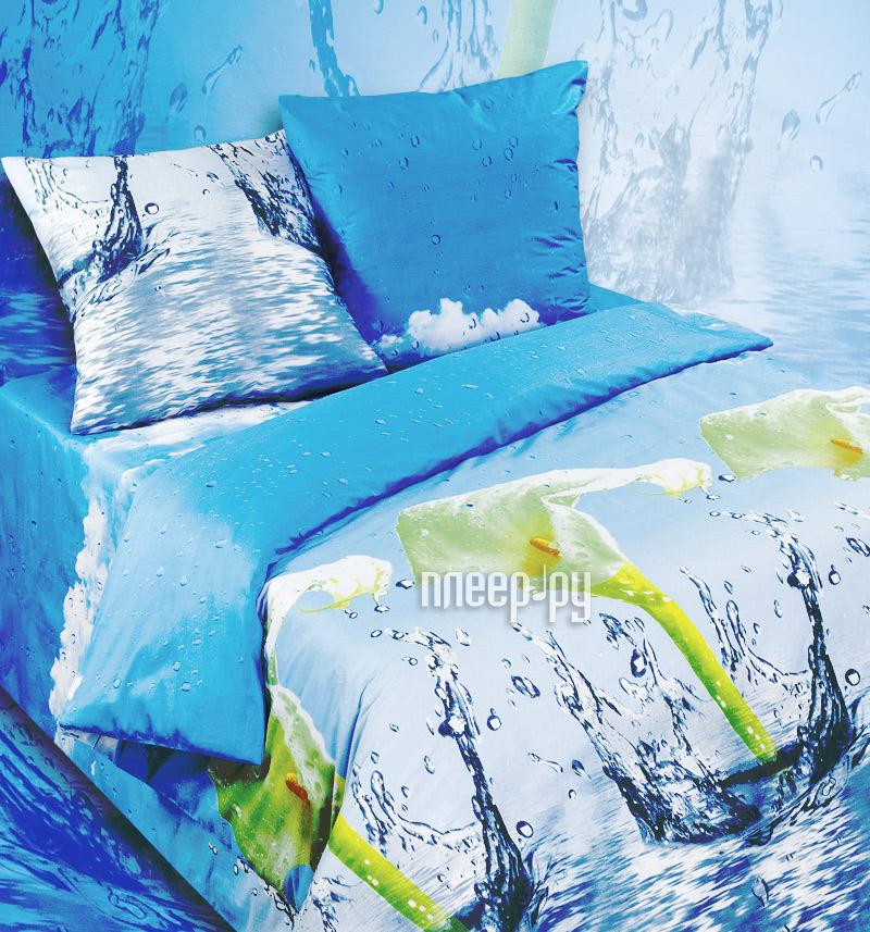Постельное белье Экзотика 302 Комплект 1.5 спальный Сатин