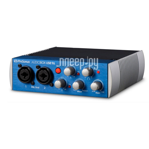 Аудиоинтерфейс PreSonus AudioBox USB 96 купить