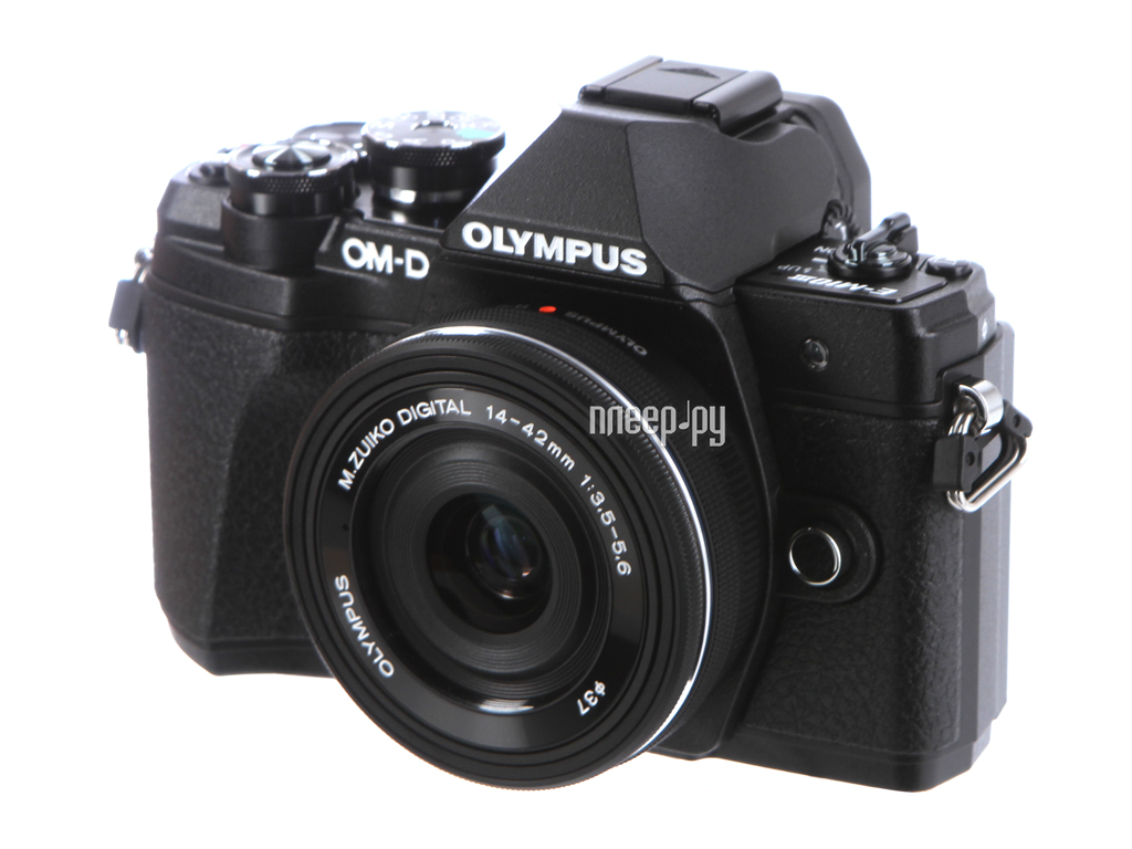Фотоаппарат Olympus OM-D E-M10 Mark III Kit Black
