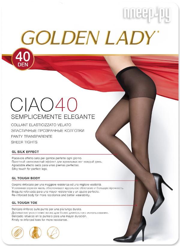 Колготки Golden Lady Ciao размер 3 плотность 40 Den Visone